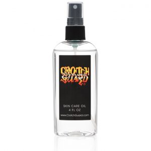 Prevent chafing irritations....  ride longer, ride stronger with Crotch Guard!